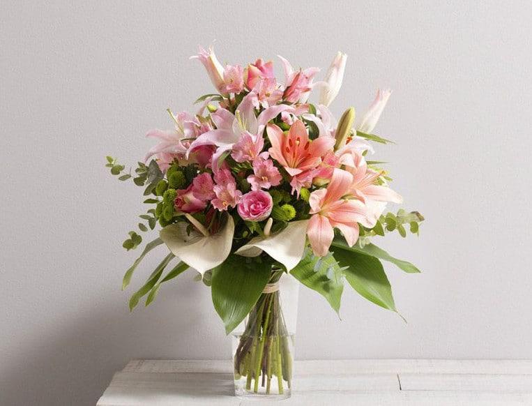 bouquet de fleurs en livraison