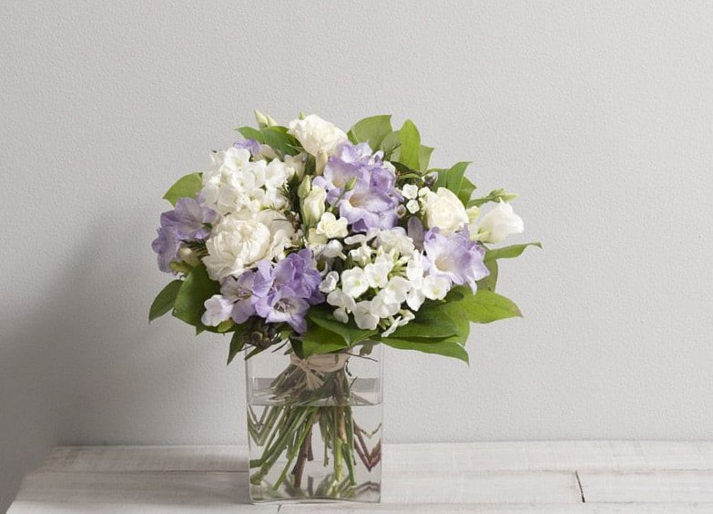 bouquet en livraison
