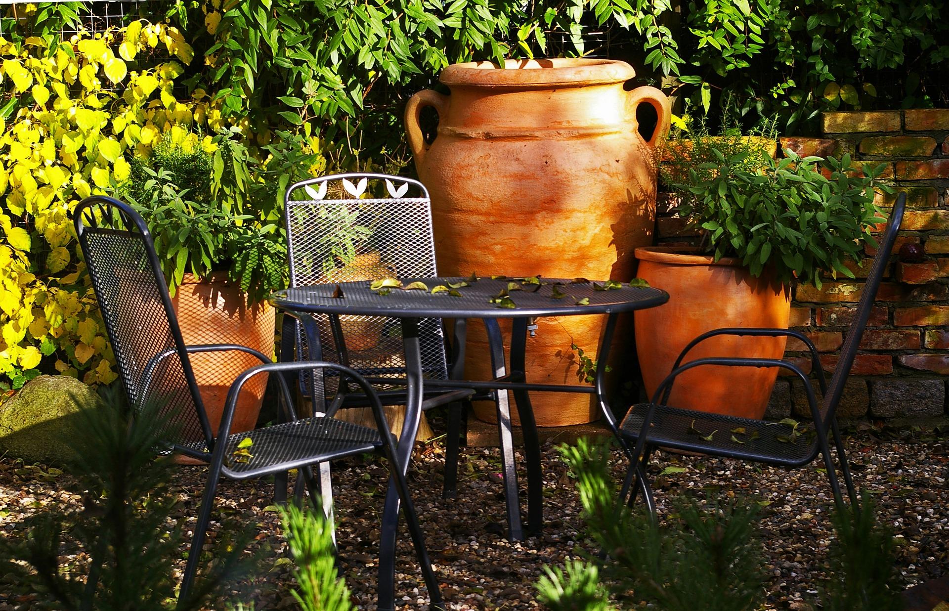 Salon de jardin pour deux personnes